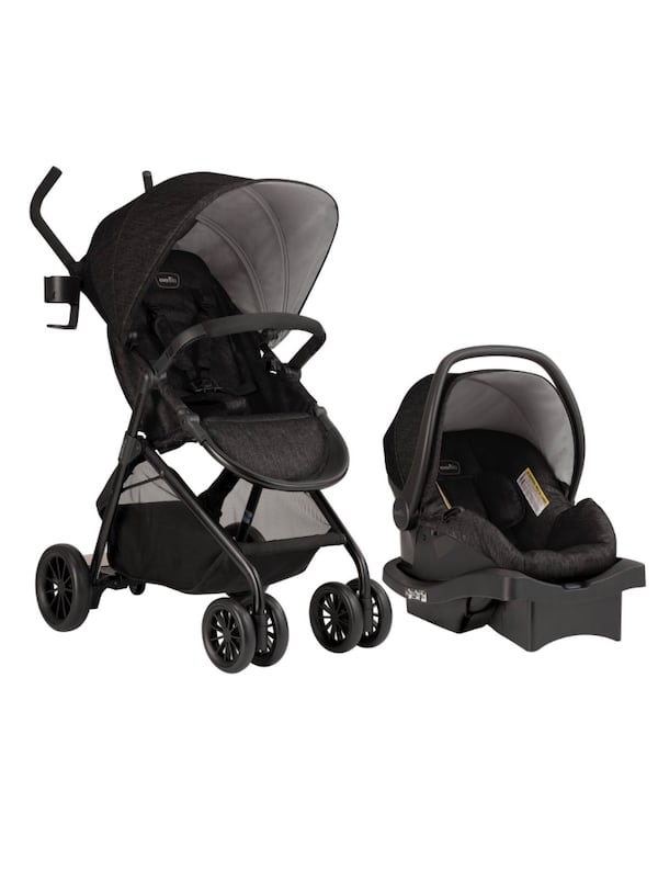 Stroller with car seat and toddler stand board retailers price is 290 e350c188-7845-4401-93f4-acbdc1bab65f