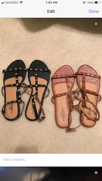 Valentino inspired sandals both for $15 New Tecumseth