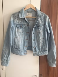 Blue Denim Jeans Jacke