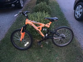 "20"" kids bike - 6 speed, Full Suspension"