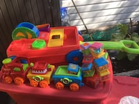 Fisher price block wagon and train Calgary, T2A 6R8