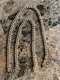 10K Miami Cuban gold chain Mississauga, L5M 3V6
