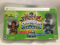 Xbox 360 skylanders swap force starter pack with 3 characters, figures + 2 free