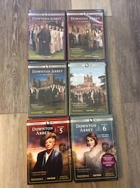 Unopened First 6 Seasons Downton Abbey DeLand, 32724