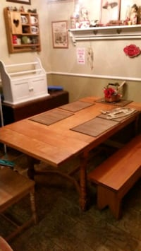 Vintage kitchen dining bench table matching delive Henderson, 89015