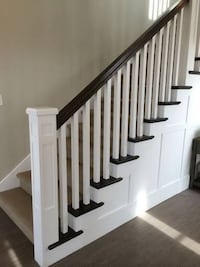 """NEW: 15 Count - 42"""" Primed Solid Wood Stair Balusters - 2"""" x 2"""" null"""