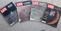 50 th Anniversary life magazines set of 4