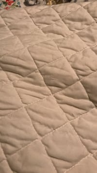 Queen Cream Quilt with 2 Shams Archdale, 27263