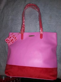 women's pink and black tote bag Kennedale, 76060