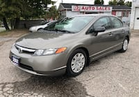 2007 Honda Civic Certified/Automatic/Accident Free/Gas Saver Scarborough, ON M1J 3H5, Canada