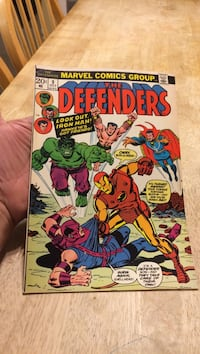 Marvel defenders comic #9