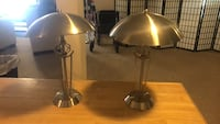 Two metal touch lamps  Bowie, 20721