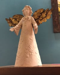 Angel Christmas decor with gild bronze wings, gorgeous! Toronto, M1P 4V9