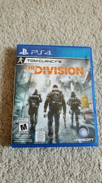 Tom Clancy's The Division PS4 game case Brampton