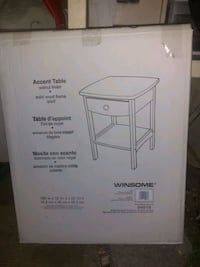 Winsome accent tables