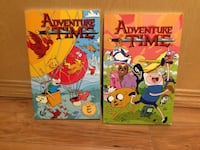 two Adventure Time books