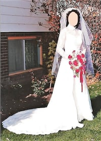 Wedding Dress and Veil Coquitlam