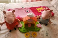 Peppa pig toys and blanket lot  (price is firm) Ashburn, 20147