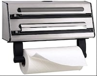 Triple Roll display for foil, cling film and paper towel Toronto, M2N