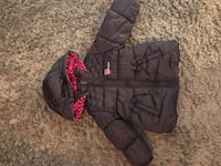 Navy and pink winter coat, Oshkosh sz 2T Laval, H7G 4H4