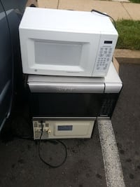 white and black microwave oven Falls Church, 22042