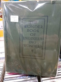 The Wonder Book of Engineering Wonder BOOK 1937 BY WARD lock  $30 Vancouver, V5T 1X9