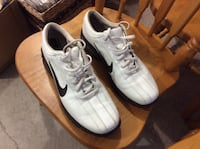 Pair of white nike low-top golf shoes ,12 Edmonton, T6V 0H2