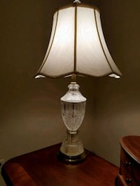white and gray table lamp Ankeny, 50023