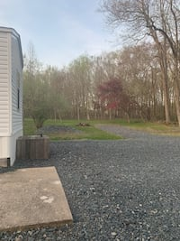 5.25 ac wooded w/ mobile home 5 yr old, shop, water,sewer,electric. Great for animal watching or hunting.Out of city congestion but close to everything. 3044 James Run Rd. Aberdeen 21001- at Churchville line. Aberdeen