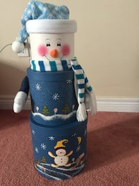white and blue 3-in-1 snowman gift boxes
