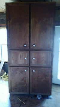 brown wooden cabinet with drawer New Iberia, 70563