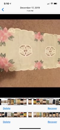 Table Cover Never Used Washable No iron needed