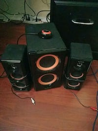 Arion speakers with subwoofer