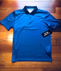 Oakley Polo Golf Shirt - *Brand New* - Blue - Mens MEDIUM Leesburg, 20175