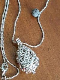 silver-colored chain necklace Red Deer, T4P 0E2