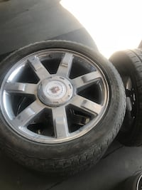 "Escalade 22"" rims and tires Beallsville, 20839"