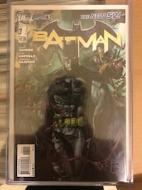 Dc comics New 52 Batman #1 Toronto, M3J 2Z3