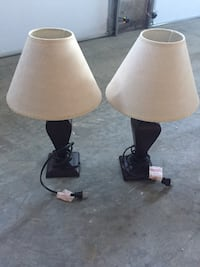Two night stand lamps Finksburg