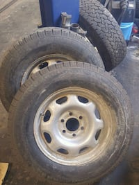 Ford 6 bolt rims and tires  Oakville