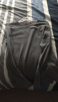 Grey American Eagle long sleeve shirt