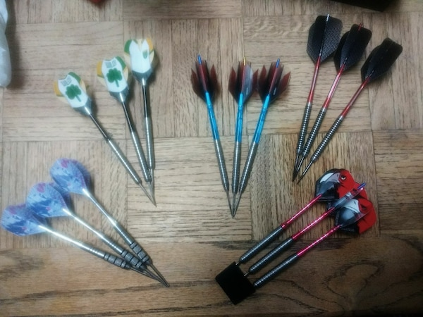 Darts..35.00 each set $ 120.00 for all