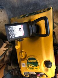 Four stroke snowblower electric start starts with starting fluid goes off excellent condition