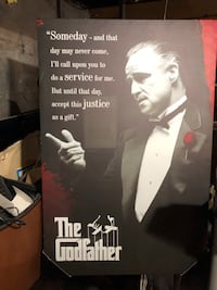 The Godfather Canvas