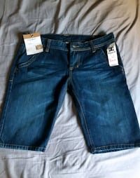 BRAND NAME MEN'S DC DENIM WAIF SHORTS WITH TAGS.