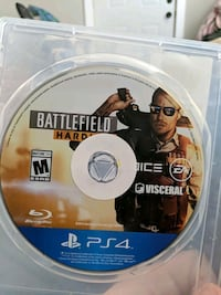 PS4 game battefield