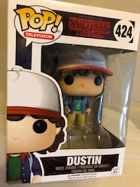 Used Pop! Stranger Things Dustin for sale in Vancouver - letgo b2b09d4d66f5f