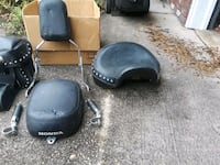 Motorcycle bags and seat  Fort Walton Beach