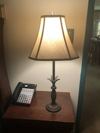 Bronze lamp with pineapple detail Hartsville, 29550