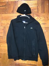 Locoste jacket and hat New York, 10462
