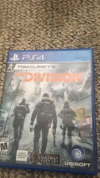 the division for ps4 and game case Martinsburg, 25401